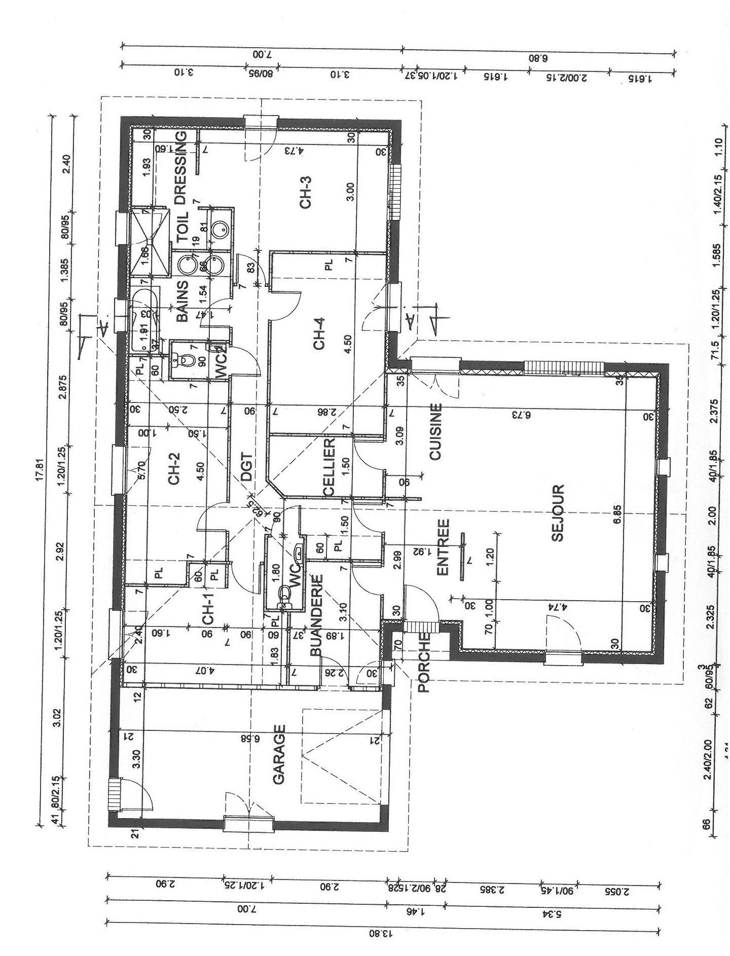 Maison Plain Pied En L 4 Chambres Avec Garage Attenant A Gujan Metras Sur Le Bassin D Arcachon Constructeur De Maison Individuelle Bassin D Arcachon Les Mas D Arguin